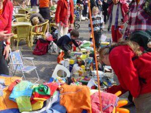 Koningsdag-vrijmarkt