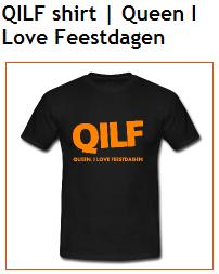 QILF t-shirt Koningsdag