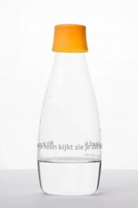 oranje-waterflesje