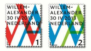 postzegels-koning-Willem-Alexander-koningszegel