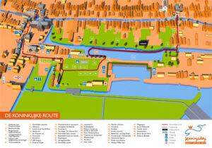 Route Koningsdag 2014